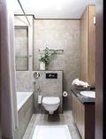 富裕型90平米一居室现代简约风格卫生间欣赏图