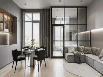 70平米一居室现代简约风格客厅装修效果图