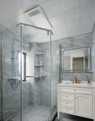 110平米四美式风格卫生间设计图
