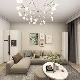 经济型50平米公寓混搭风格客厅图片