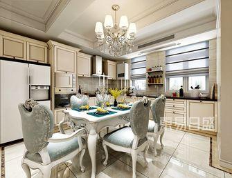 20万以上140平米别墅混搭风格餐厅图片大全