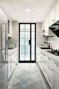 10-15万130平米三室两厅现代简约风格厨房图