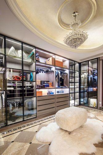 豪华型140平米别墅混搭风格衣帽间设计图