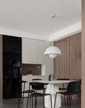 140平米四室一厅北欧风格餐厅欣赏图