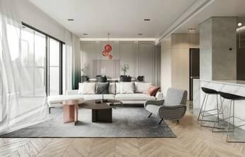 10-15万130平米现代简约风格客厅欣赏图