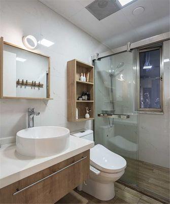 10-15万100平米三室一厅日式风格卫生间图