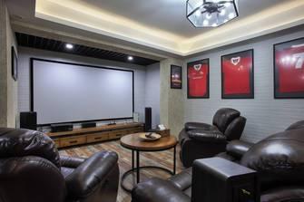 140平米复式美式风格影音室装修案例