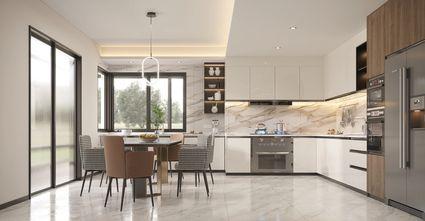 豪华型140平米四室四厅轻奢风格餐厅装修案例