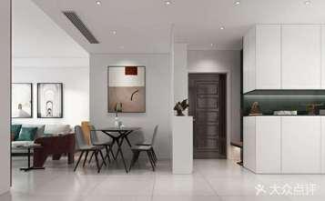 经济型90平米三现代简约风格餐厅图片