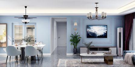 豪华型140平米四北欧风格客厅装修案例