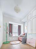 富裕型110平米三室一厅法式风格青少年房设计图