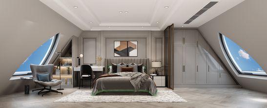 经济型140平米复式欧式风格卧室装修案例
