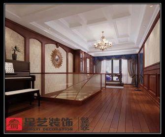 140平米复式美式风格阁楼装修图片大全