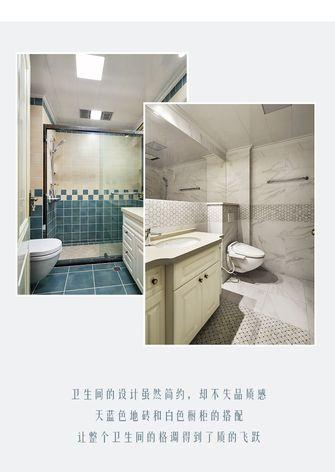 20万以上110平米三室两厅欧式风格卫生间设计图