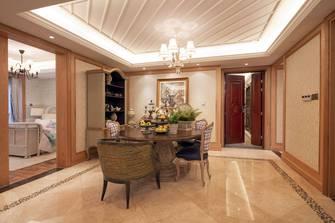 经济型140平米三室一厅田园风格餐厅效果图