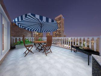 20万以上140平米别墅美式风格阳台图