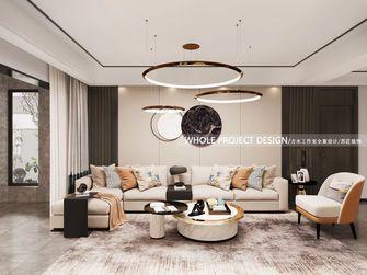 5-10万120平米三室三厅轻奢风格客厅装修案例