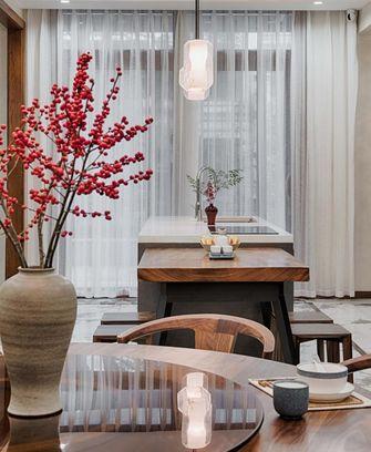 富裕型90平米中式风格餐厅装修图片大全