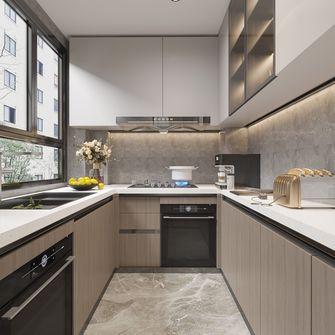 20万以上140平米三室两厅法式风格厨房欣赏图