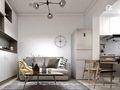 60平米公寓轻奢风格客厅图