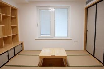 经济型120平米三室两厅现代简约风格书房图