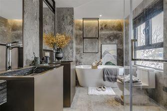 20万以上100平米三室一厅轻奢风格卫生间设计图
