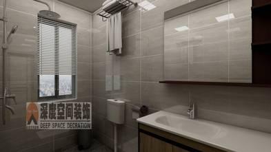 3-5万80平米三室两厅现代简约风格卫生间图