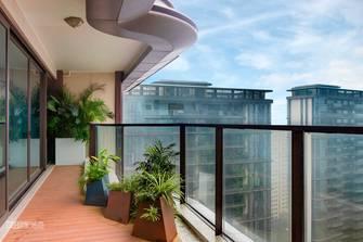 20万以上140平米三室两厅混搭风格阳台装修效果图