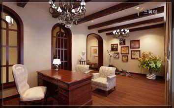 豪华型140平米别墅美式风格书房图