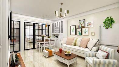 经济型40平米小户型美式风格客厅图