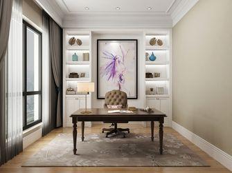 豪华型140平米别墅美式风格书房设计图