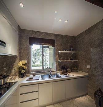 15-20万130平米三室两厅中式风格厨房设计图