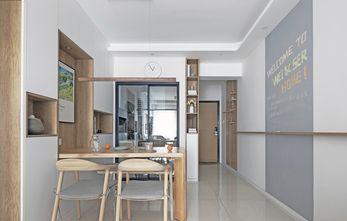 80平米三日式风格餐厅设计图