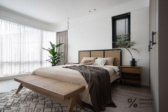 140平米三室两厅田园风格卧室装修案例