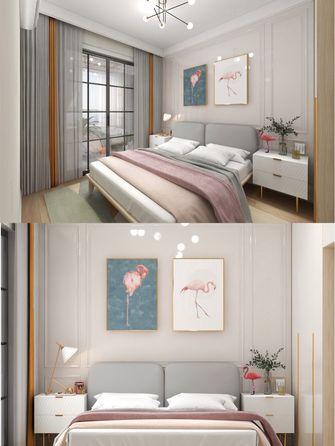 豪华型140平米四室一厅北欧风格卧室装修案例