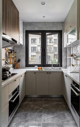130平米四室一厅美式风格厨房效果图