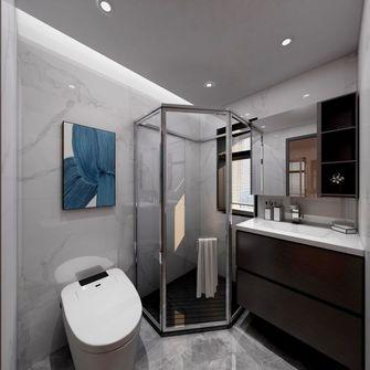 豪华型140平米三室两厅现代简约风格卫生间设计图