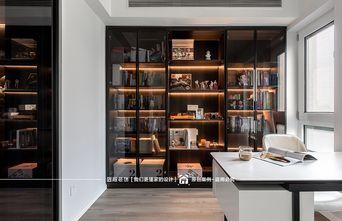 富裕型130平米三室两厅现代简约风格书房欣赏图