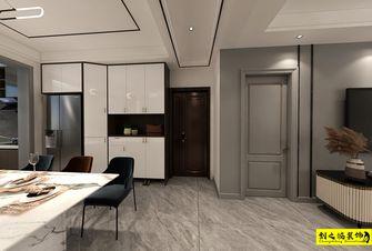 10-15万140平米三室两厅现代简约风格玄关设计图