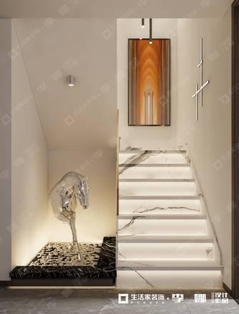 豪华型140平米四轻奢风格楼梯间设计图