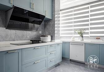 豪华型130平米三室两厅法式风格厨房欣赏图