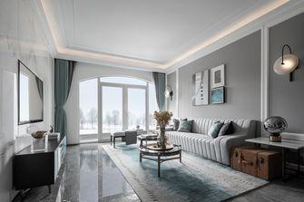 20万以上120平米三欧式风格客厅装修效果图