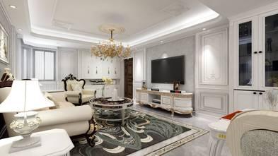 140平米三室一厅法式风格客厅图