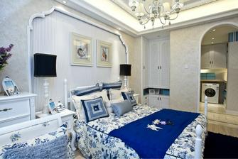 富裕型90平米地中海风格卧室装修图片大全