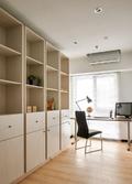 10-15万100平米四室两厅港式风格书房设计图