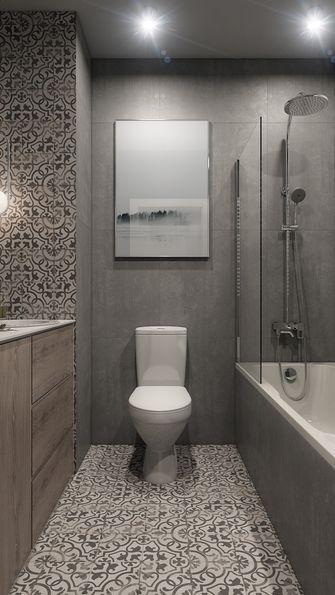 10-15万100平米四室两厅现代简约风格卫生间设计图