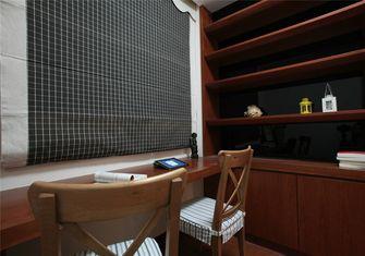 豪华型120平米三室一厅中式风格书房欣赏图