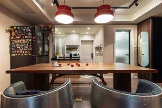 70平米一室两厅混搭风格餐厅欣赏图