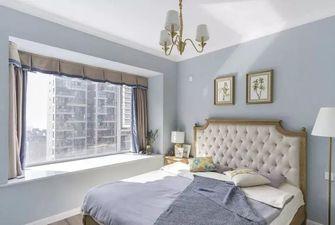 5-10万90平米三室一厅美式风格卧室图片