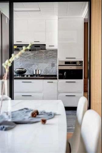 3万以下100平米三田园风格厨房欣赏图